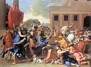 The Abduction of the Sabine Women, by Nicolas ...