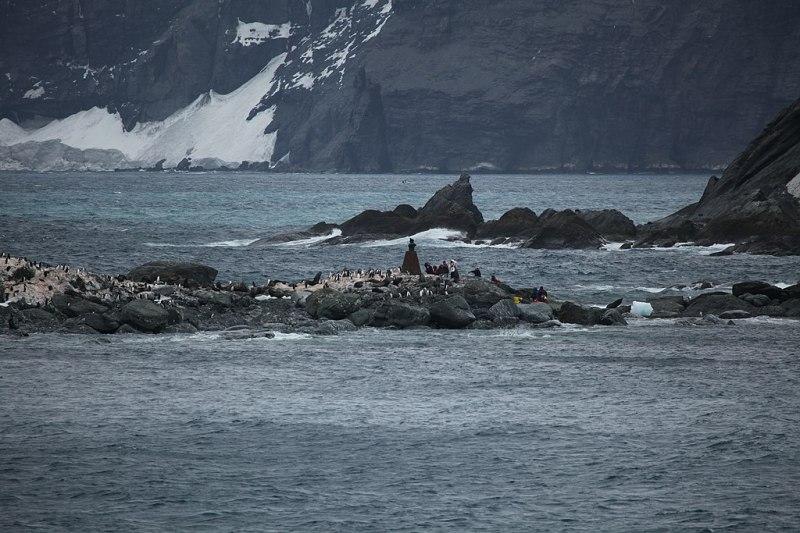Tourists land at Point Wild, Elephant Island (6019058631)