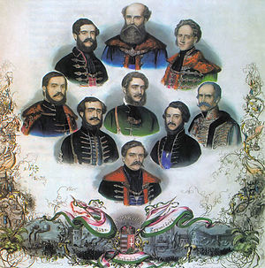The first government of Hungary