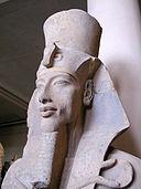 Akhenaten statue