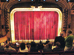 Al Hirschfeld Theatre, view to the stage 302 W...
