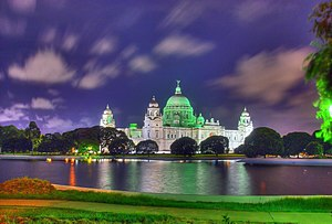 The stunning beauty of Victoria Memorial in Ko...