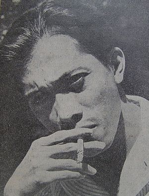 Indonesian poet Chairil Anwar (1922 - 1949)