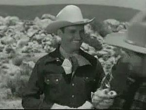 English: Gene Autry starring in the movie &quo...