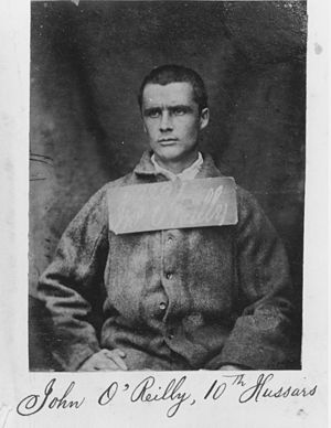 photograph of imprisoned O'Reilly, 1866