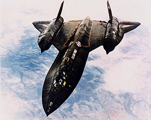 Lockheed SR-71 in flight (SN 61-7968) 061122-F...