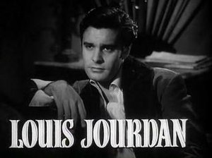 Cropped screenshot of Louis Jourdan from the f...