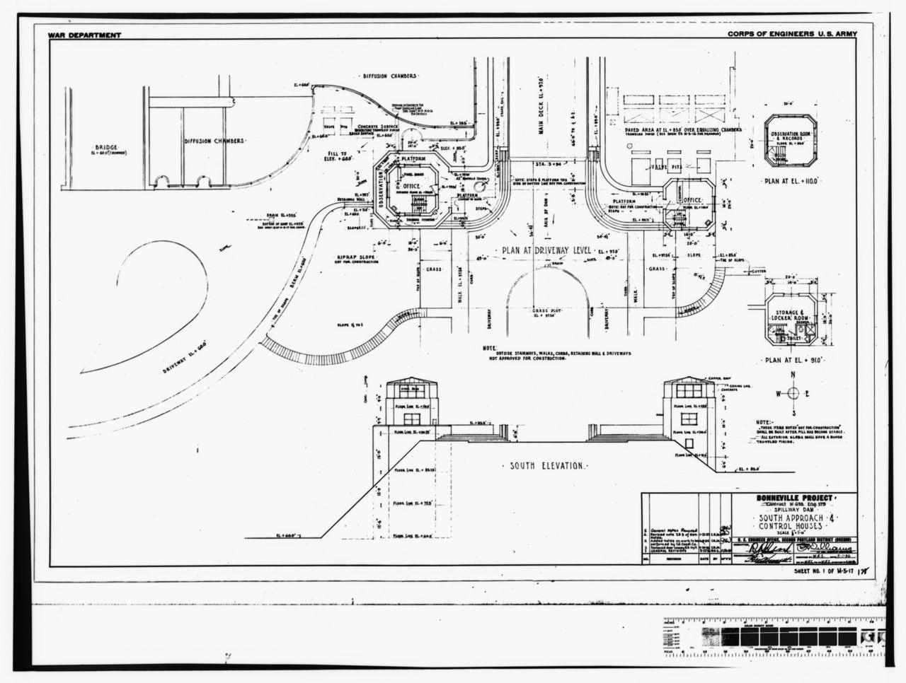 File Photocopy Of Original Construction Drawing 1 May