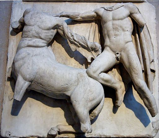 South metope Parthenon