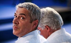 O secretário-geral do Partido Socialista, José...