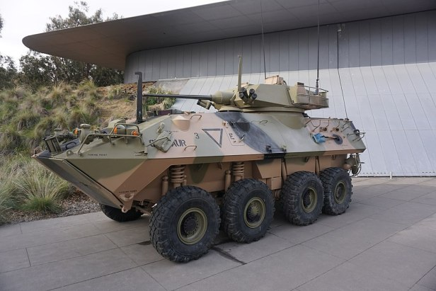 Australian War Memorial - Joy of Museums - LAV-25 Australian Light Armoured Vehicle