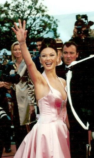 Catherine Zeta-Jones at the Cannes film festival