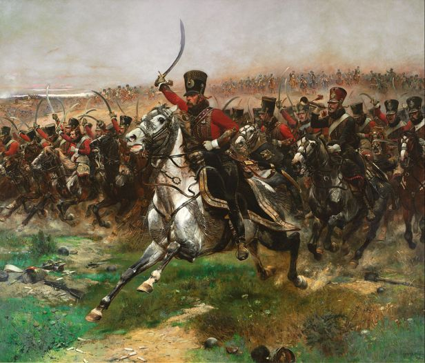 """Vive L'Empereur"" by Edouard Detaille"