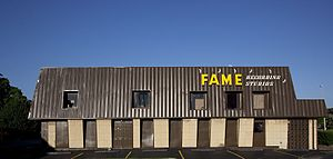 FAME Recording Studios, Muscle Shoals, Alabama