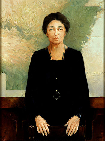 English: Portrait of Senator Hattie Caraway