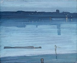 James Abbott McNeill Whistler - Nocturne- Blue and Silver - Chelsea - Google Art Project