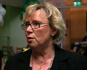 English: Lena Ek, member of the European Parli...
