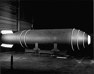The Mk-17 was an early U.S. thermonuclear weap...