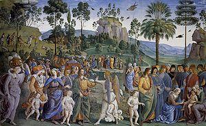 Pietro Perugino: Cappella Sistina (Viaggio di ...