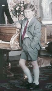 Risultati immagini per principe carlo 1957
