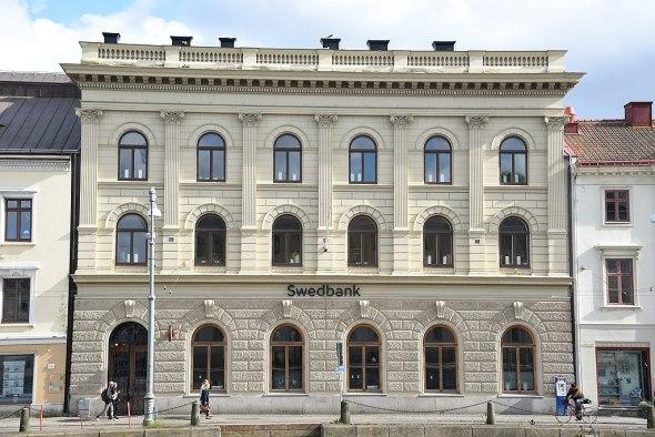 Riksbankshuset 2015.