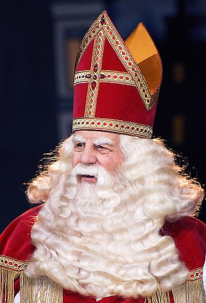 Sinterklaas or Saint Nicholas, considered by m...