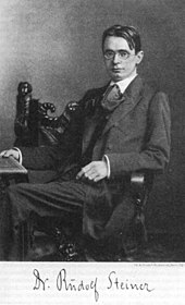Image result for Rudolf Steiner and the theosophical society