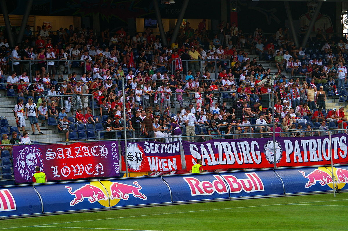 Supporters Fc Red Bull Salzburg Wikimedia Commons
