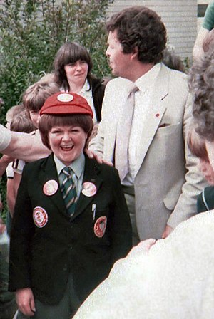 English: Wee Jimmy Krankie (left) and Jimmy Kr...