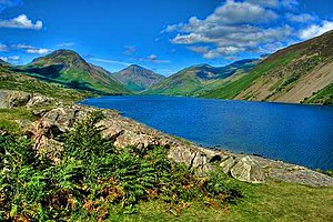 Wastwater, Lake District, England.