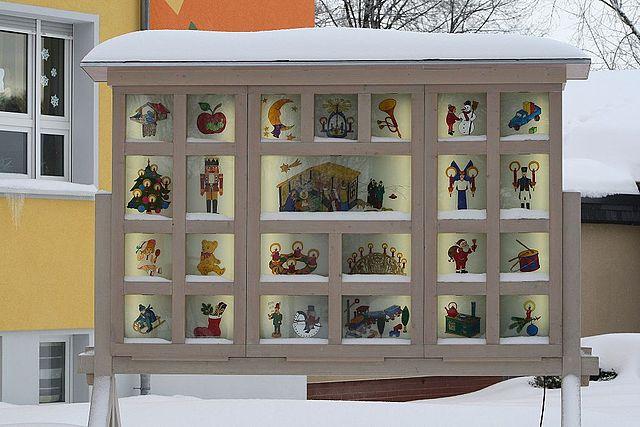 Weihnachtskalender. Hohndorf. Erzgebirgskreis.