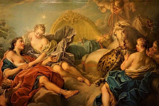 """Aurora and Cephalus"" by François Boucher - Joy of Museums - Yamazaki Mazak Museum of Art - 2"