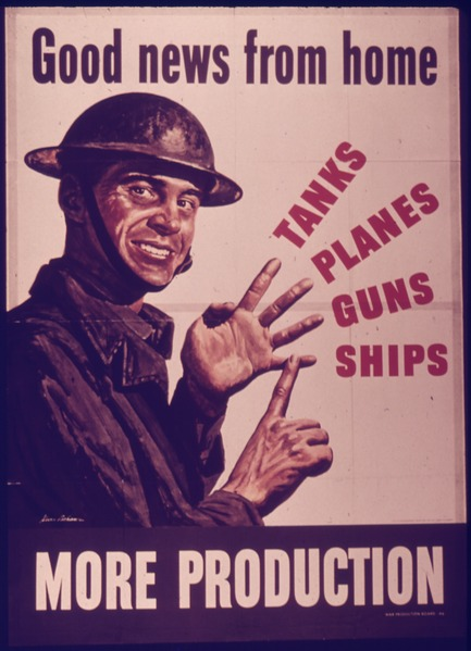 Good News: WW2 poster