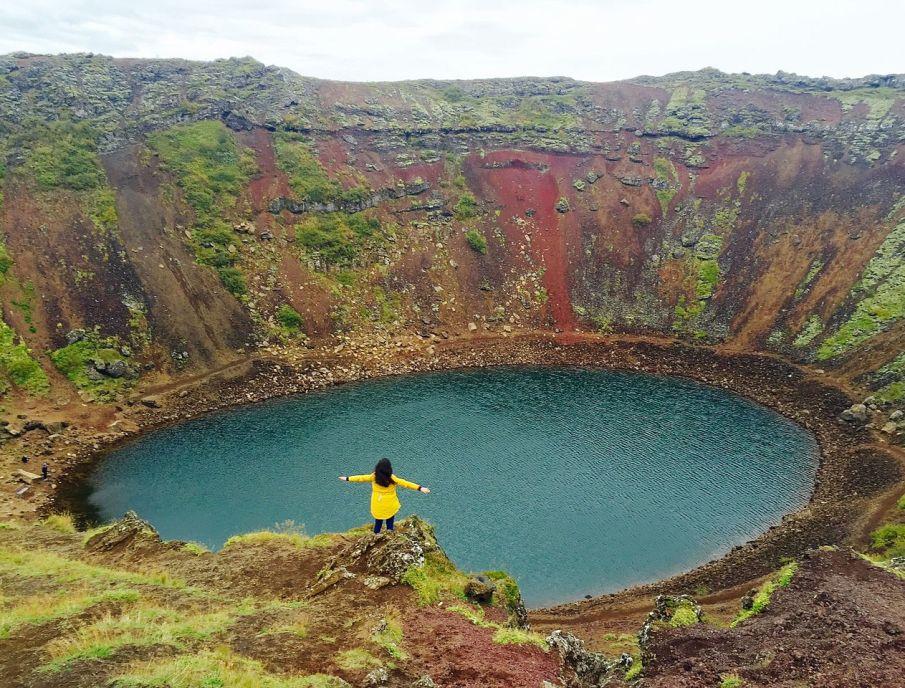 Il lago di Kerið (o Kerid) - Itinerario nel Circolo d'oro