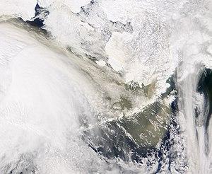 Asian Dust Reaches Alaska.(April 13, 2002) Ima...