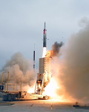 Arrow anti-ballistic missile system, developed...