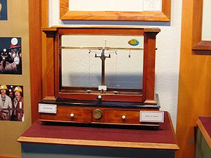 A precision balance scale for weighing silver ...