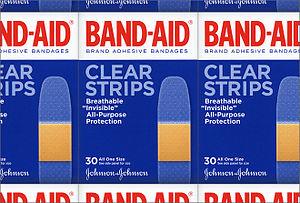 English: Band-Aid logo designed by Dresser Joh...
