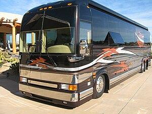 Prevost Marathon Luxury Bus Conversion