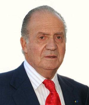 Busto del Rey Juan Carlos I de España en su vi...