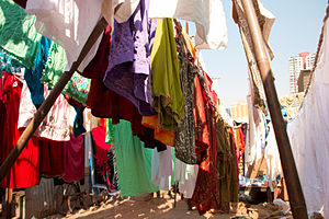 This is probably the world's biggest laundry m...