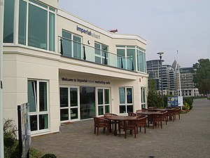 English: Imperial Wharf: the Marketing Suite T...