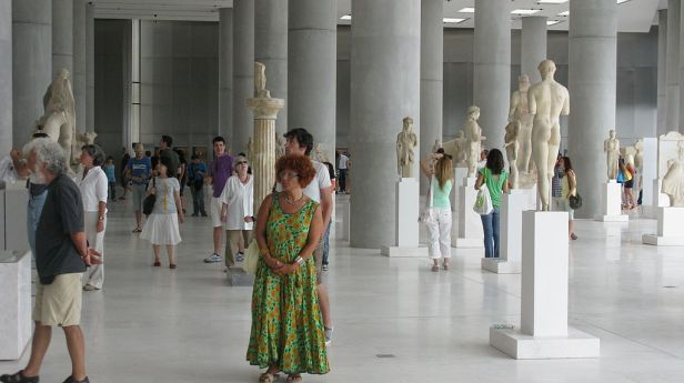 Interior of the New Acropolis Museum 1