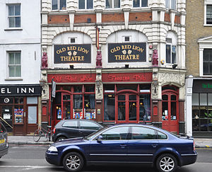 London, Islington, Old Red Lion Theatre Pub