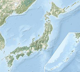 Phú Sĩ sơn trên bản đồ Japan