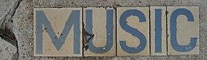 """New Orleans: """"Music"""" Street tiles, M..."""