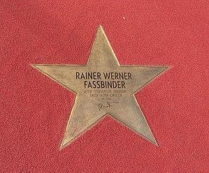English: Star of Rainer Werner Fassbinder at &...