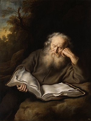 The Hermit by Salomon Koninck