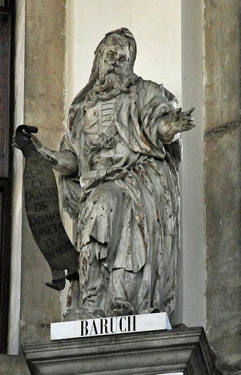 English: Prophet Baruch in Santa Maria della S...