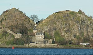 Dumbarton Rock, Alt Cluath, captured by Amlaíb...